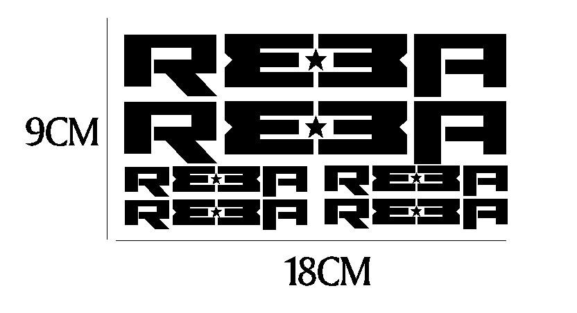 kit pegatina para bicicleta - REBA
