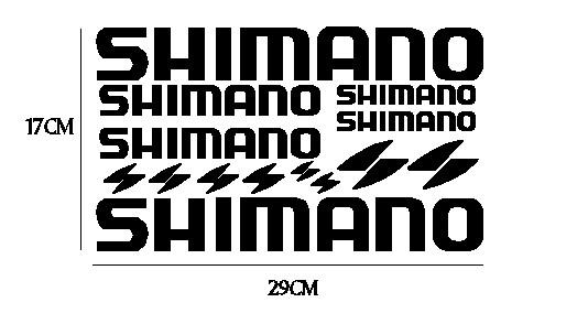 kit pegatina para bicicleta - SHIMANO
