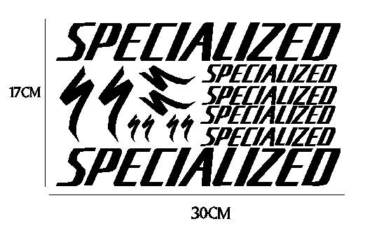 kit pegatina para bicicleta - SPECIALIZED