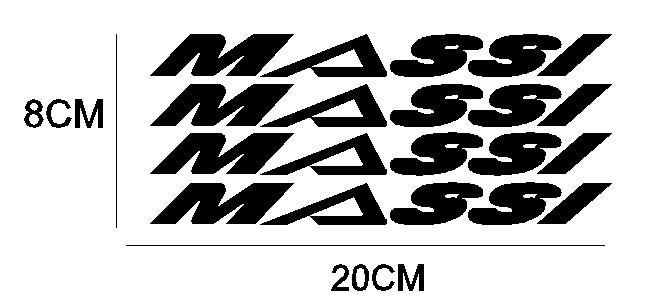 kit pegatina para bicicleta - MASSI