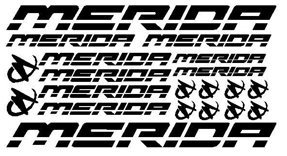 kit pegatina para bicicleta - MERIDA