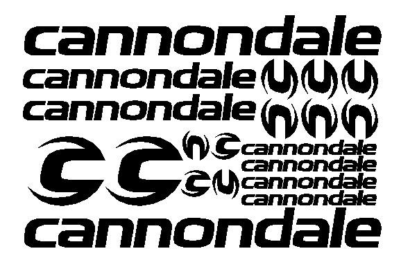 kit pegatina para bicicleta - CANNONDALE