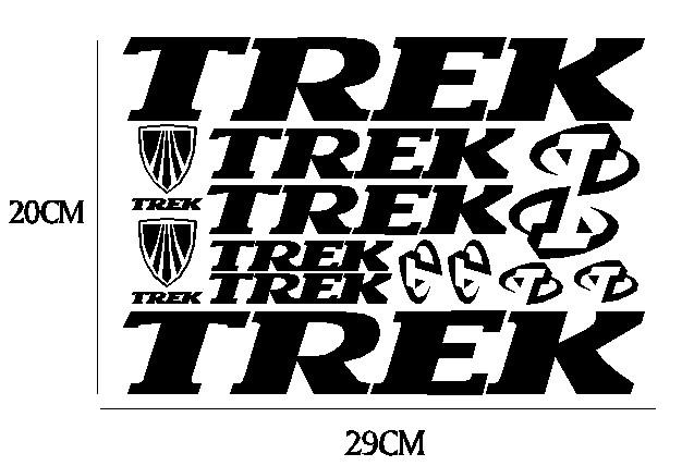 kit pegatina para bicicleta - TREK