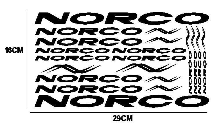 kit pegatina para bicicleta - NORCO