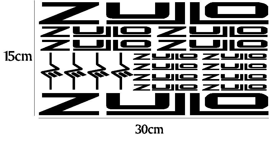 kit pegatina para bicicleta - ZULLO