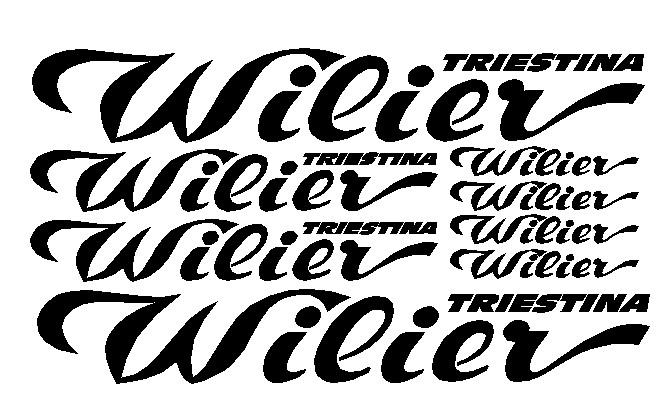 kit pegatina para bicicleta - WILIER