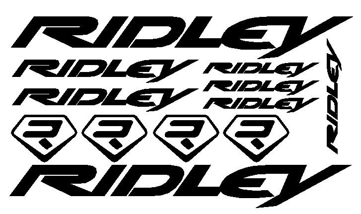 kit pegatina para bicicleta - RIDLEY