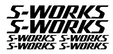 kit pegatina para bicicleta - S-WORKS