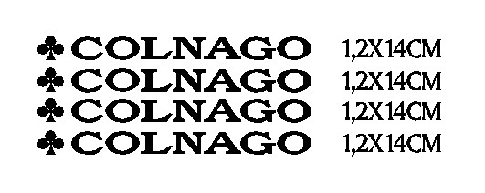 kit pegatina para bicicleta - COLNAGO