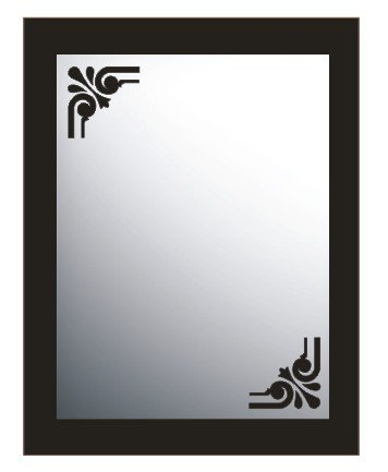 Vinilo decorativo para espejo, ref:vesp1