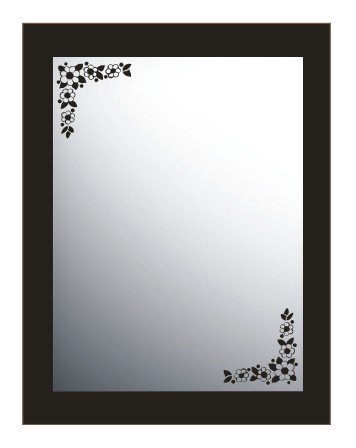 Vinilo decorativo para espejo, ref:vesp9